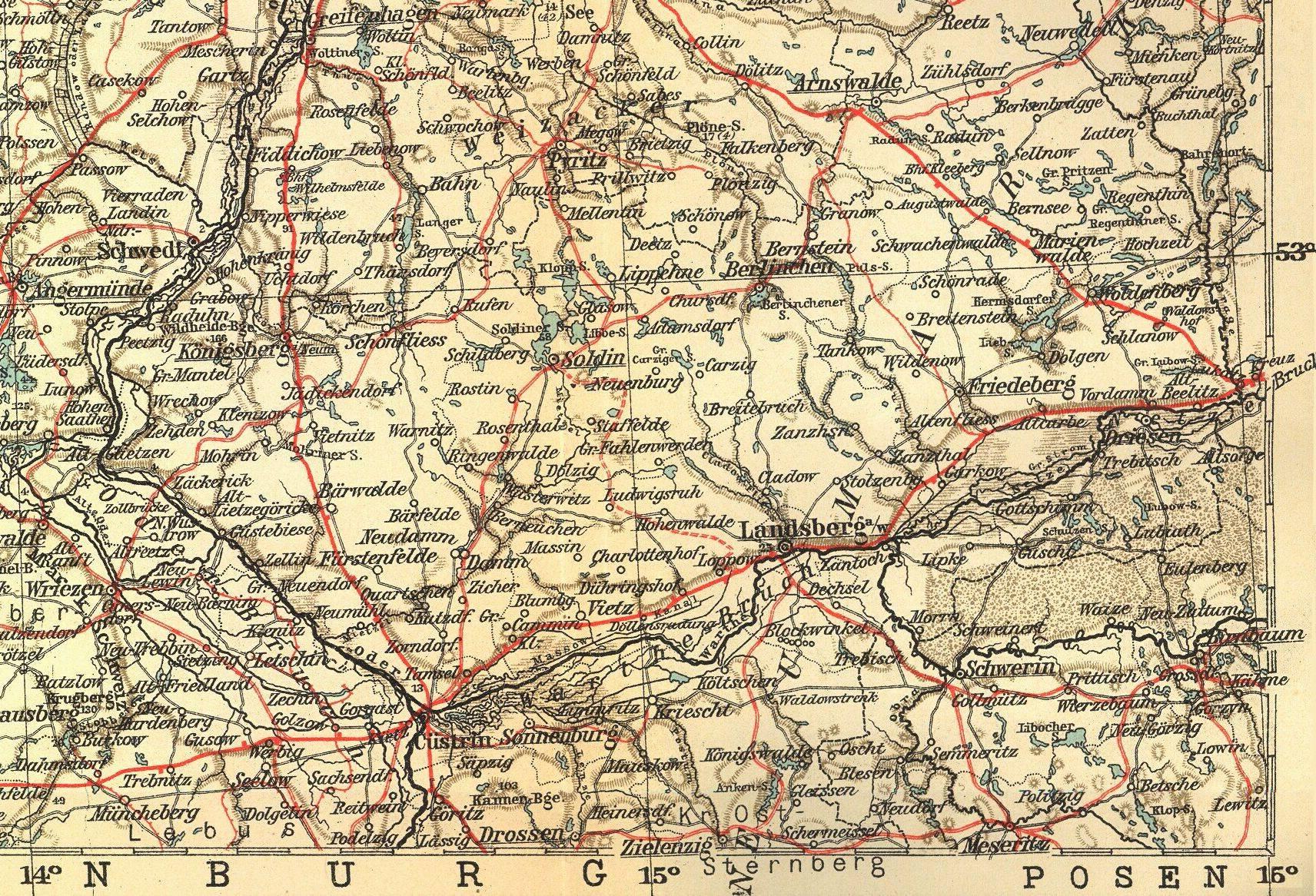 khd-research | Deutschland -- Karten & Pläne - Deutschland Karte 1939