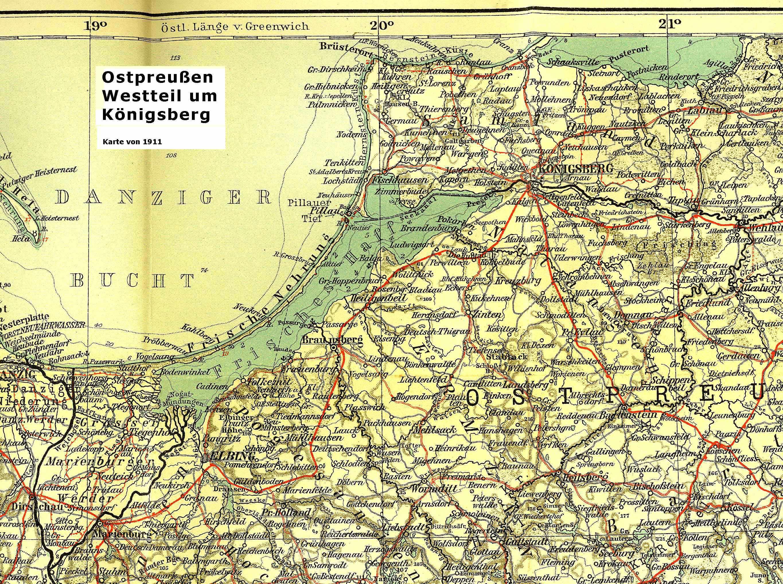 Karte Ostpreußen.Khd Research Deutschland Karten Pläne