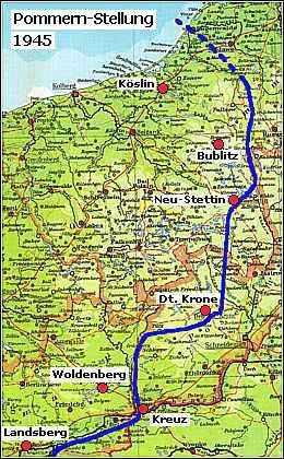 Pommern Karte Vor 1945.Khd Research Woldenberg Neumark Einfall Der Russen 1945